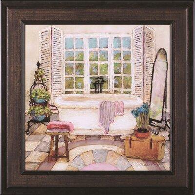 'Sunny Day Bath II' Framed Painting Print