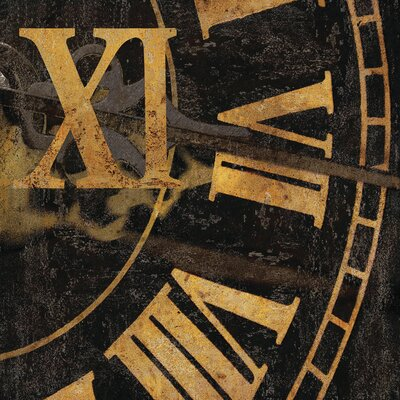 Roman Numerals I by Russell Brennan Graphic Art on Wrapped Canvas