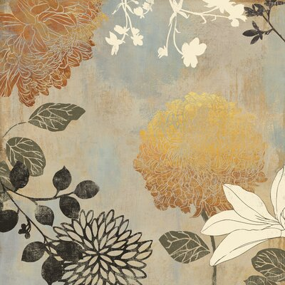 Grace Flowers Ii By Aimee Wilson Painting Print On Wrapped Canvas