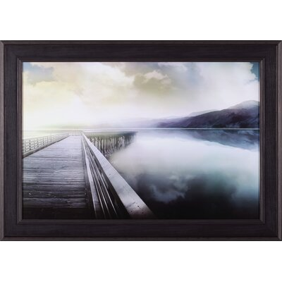 Hazy Morning By Mike Calascibetta Framed Photographic Print