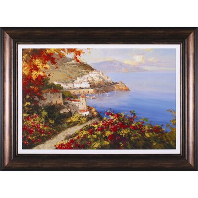 Art Effects La Baia Delle Amore Framed Painting Print at Sears.com