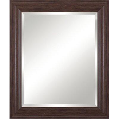 Beveled Vanity Mirror Finish: Distressed Brown