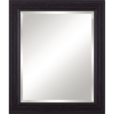 Beveled Vanity Mirror Finish: Distressed Black