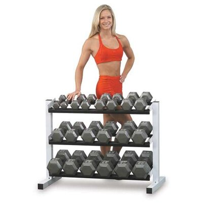Grey Hex Dumbbell Sets Weight: 55 - 75 lbs