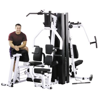Light Commercial 2 Stack Home Gym Vertical Knee Raise Attachment: Included
