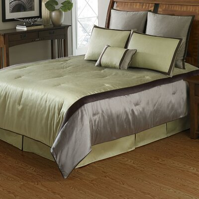 American Century Home 3 Piece Comforter Set Size: Queen, Color: Sage