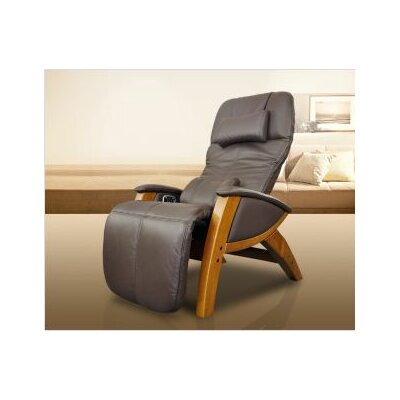 Svago Lusso Massage Chair Upholstery: Black / Honey