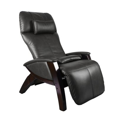Svago ZG Zero Gravity Massage Chair Upholstery: Black