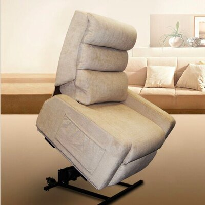 Mobility Zero Gravity Power Lift Assist Recliner Color: Oyster