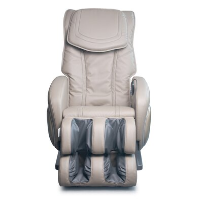 Reclining Massage Chair Color: Khaki