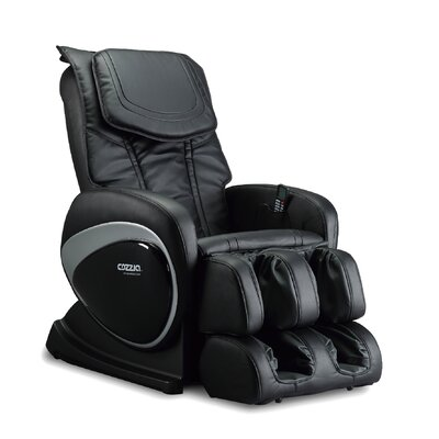 Reclining Massage Chair Color: Black