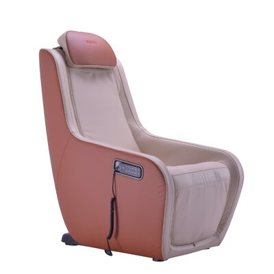 Heated Massage Chair Upholstery: Ivory/Caramel