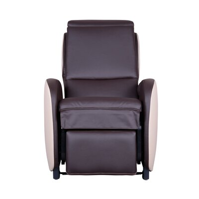 Massage Chair with Footrest Upholstery: Americana/Ivory