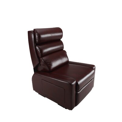 Easy Transfer Mobility Power Lift Assist Recliner Upholstery: Cranberry