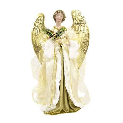 Animated Musical Christmas Angel in Classic Elegant Dress-up THLA5795 40241459