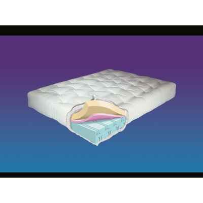 10 ViscoTouch Futon Mattress Size: Queen