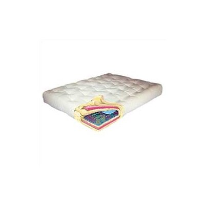 9 ComfortCoil Futon Mattress Size: Queen