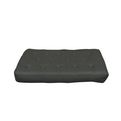 Comfort Coil 9 Cotton Chair Size Futon Mattress