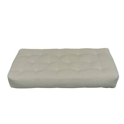 Feather Touch II 9 Cotton Chair Size Futon Mattress