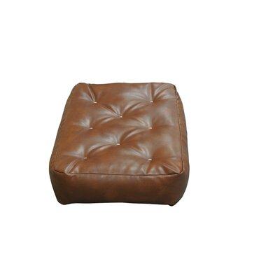 Feather Touch I 8 Cotton Ottoman Size Futon Mattress Upholstery: Saddle Brown
