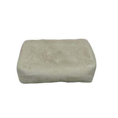 8 Cotton Ottoman Size Futon Mattress Upholstery: Tan