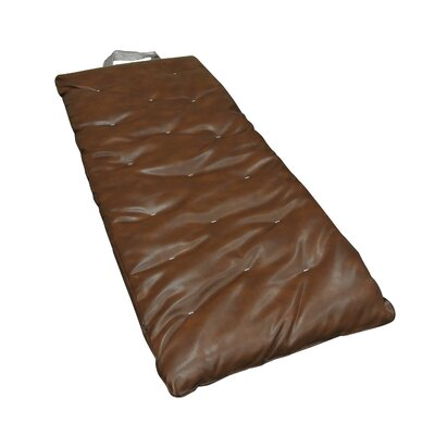 Overnighter 3 Cotton Cott Size Futon Mattress Upholstery: Saddle Brown