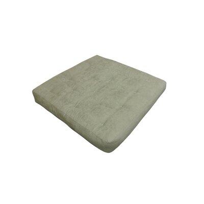 9 Foam and Cotton Loveseat Size Futon Mattress Upholstery: Sage