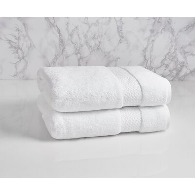 Dynasty Bath Towel Color: Frost