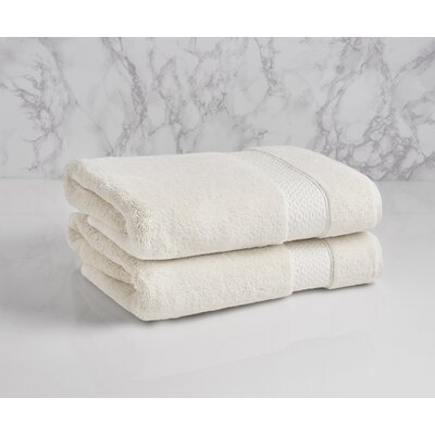 Dynasty Bath Towel Color: Chalk