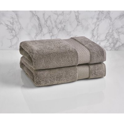 Dynasty Bath Towel Color: Cloud