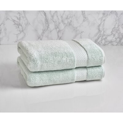 Dynasty Bath Towel Color: Porcelain