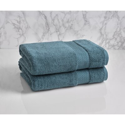 Dynasty Bath Towel Color: Teal
