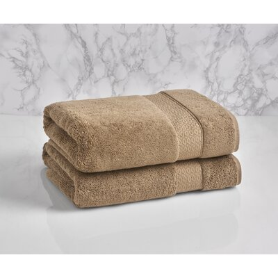 Dynasty Bath Towel Color: Chantarelle