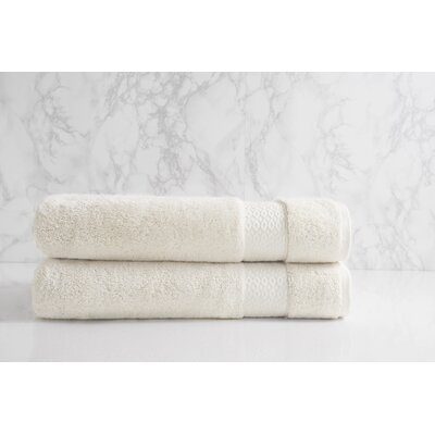 Dynasty Bath Sheet Color: Chalk