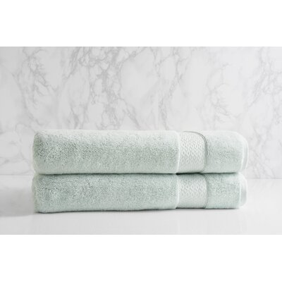 Dynasty Bath Sheet Color: Porcelain
