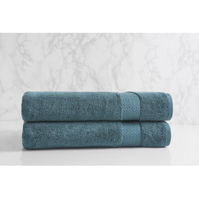 Dynasty Bath Sheet Color: Teal