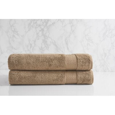 Dynasty Bath Sheet Color: Chantarelle