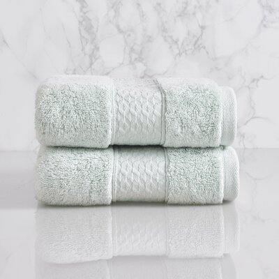Dynasty Hand Towel Color: Porcelain