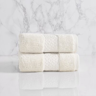 Dynasty Hand Towel Color: Chalk