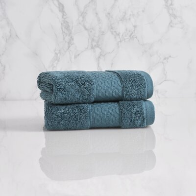 Dynasty Wash Cloth Color: Teal