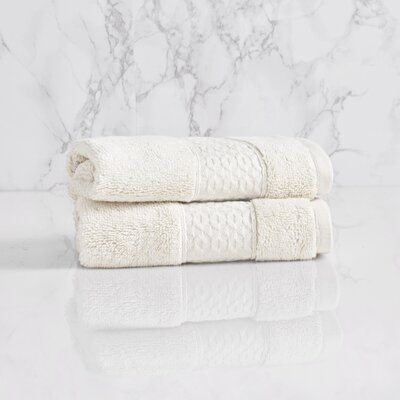 Dynasty Wash Cloth Color: Chalk