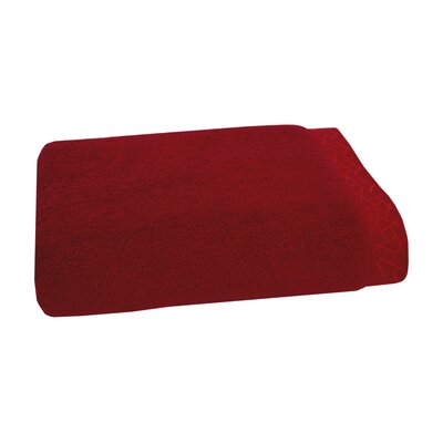 Fretwork Bath Towel Color: Imperial Red