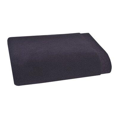 Fretwork Bath Towel Color: Ink