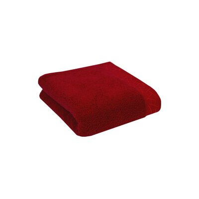 Fretwork Hand Towel Color: Imperial Red