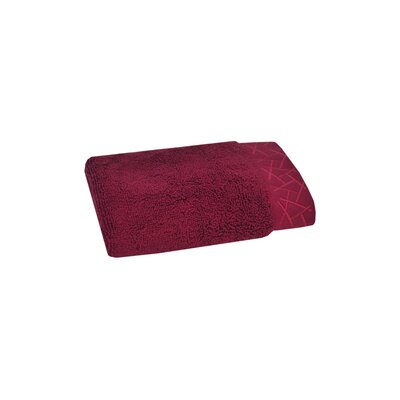 Fretwork Washcloth Color: Dragon Fruit
