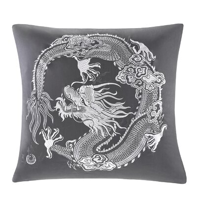 Sterling Dragon Embroidered Sham