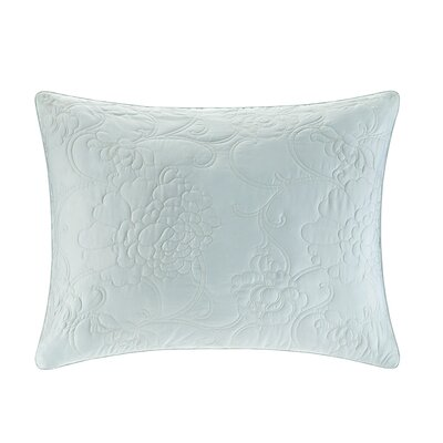 Mantones de Manila Silk Cotton Quilted Duvet Sham Size: King