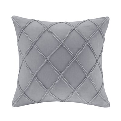 Linen Throw Pillow Color: Grey