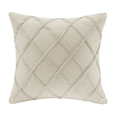 Linen Throw Pillow Color: Linen