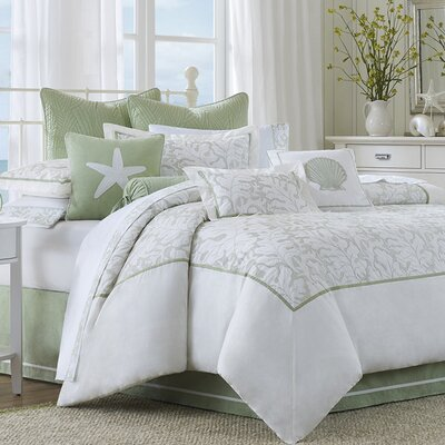 Brisbane Reversible Comforter Set Size: Twin